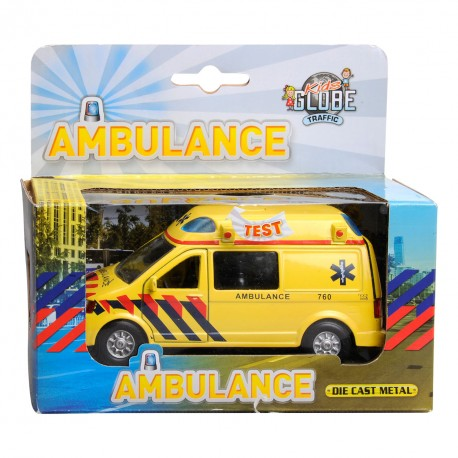 Ambulance Pull Black + Geluid