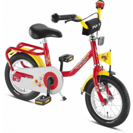 """Fiets 12"""" Z2 PUKY Rood 4103"""