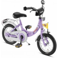 """Fiets 12"""" ZL12 PUKY paars/lila 4124"""