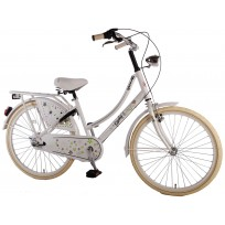 "Fiets 24"" Yipeeh Oma Spring time 24"" Nexus 3 Meisjesfiets Wit Creme 52406"