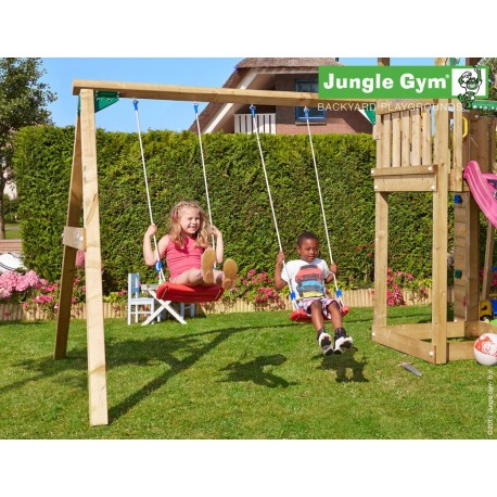 Jungle Gym (extra optie) 2-Swing module X'tra