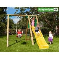 Jungle Gym Speeltoestel met Schommel en Glijbaan Peak