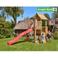 Jungle Gym Speeltoren met Brandweerpaal Cubby Fireman's Pole