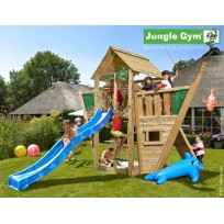 Jungle Gym Speeltoren met Touwladder Cabin Boat