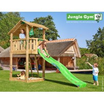Jungle Gym Speeltoren met Glijbaan Shelter