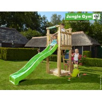 Jungle Gym Speeltoren met Glijbaan Tower