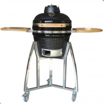 EliteGrill 40 Black BBQ Barbeque Kamado