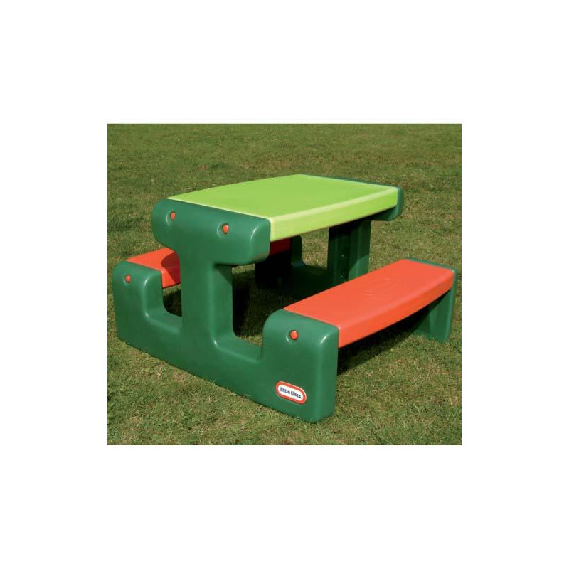 Picknicktafel Little Tikes klein groen 479A
