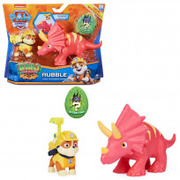 PAW Patrol Dino Rescue Dino Action Pack Pup Rubble - Speelset