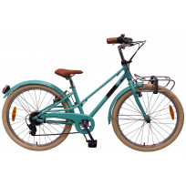 Volare Melody Kinderfiets - 24 Inch - Turquoise - 6 Speed - Prime Collection