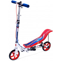 Space Scooter X580 - Step - Rood / Wit / Blauw - Limited Edition