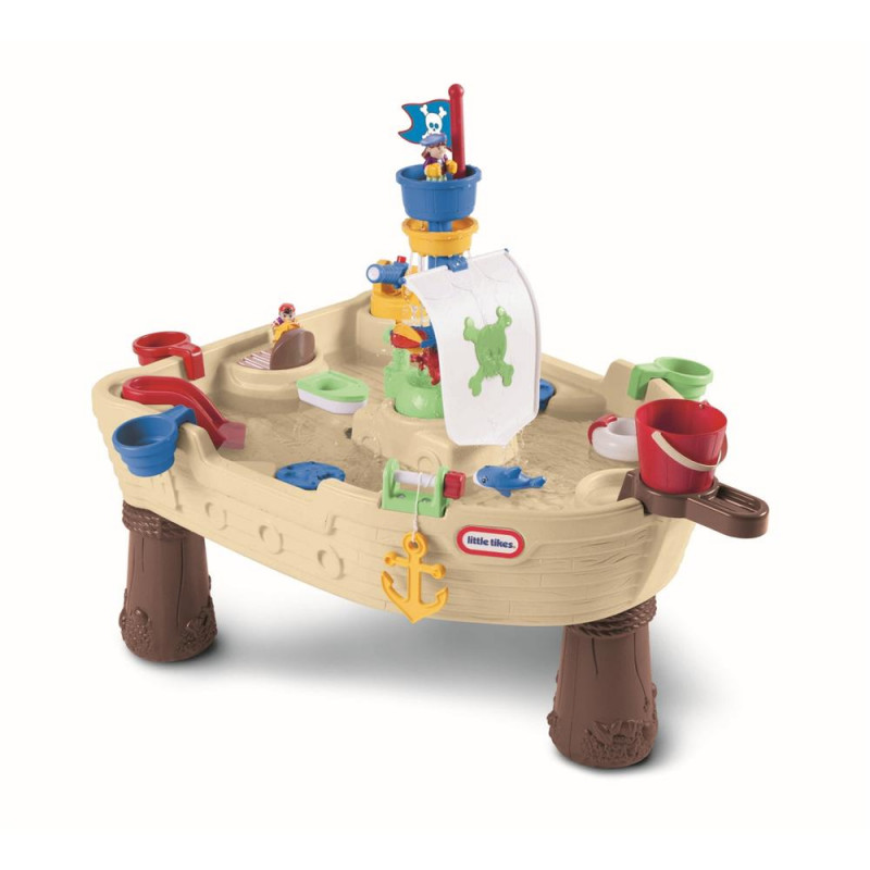 Little Tikes zand en watertafel Piratenboot