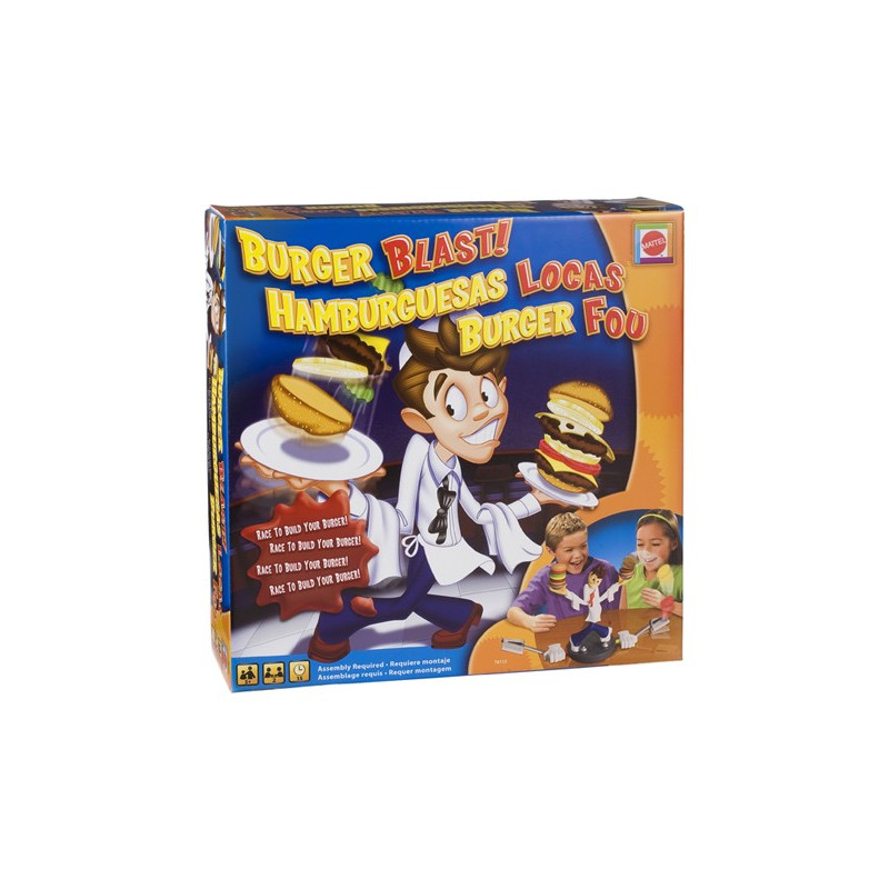 Spel hamburgers happen