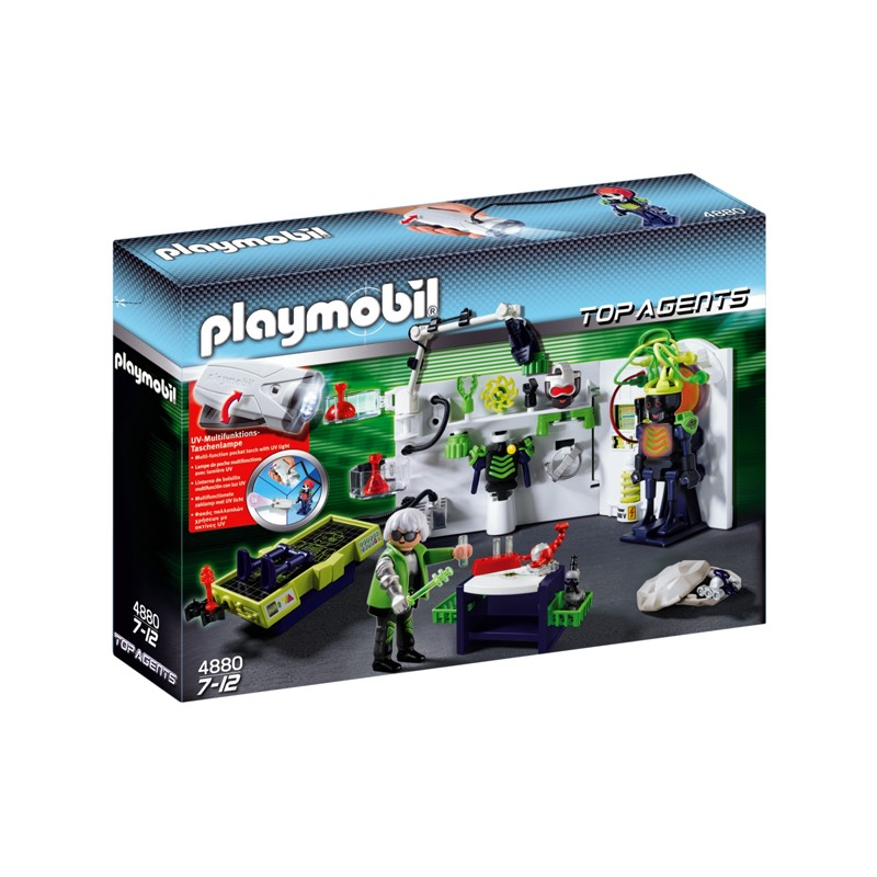 4880 Playmobil Top Agents: Robo-Gangsterlabo