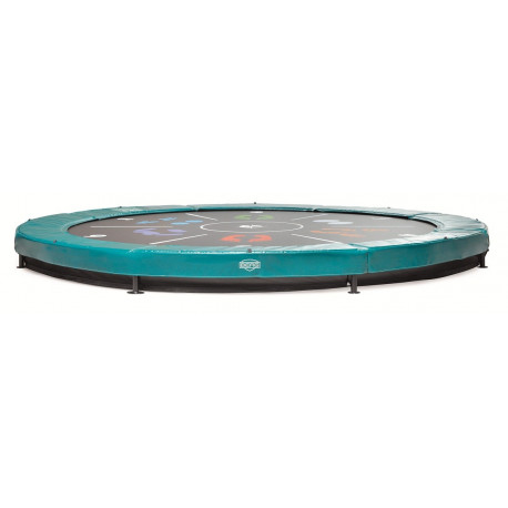 BERG Trampoline Inground Elite+ 430 groen tattoo