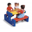 Picknicktafel Little Tikes groot colors