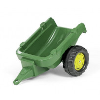 Tractor Rolly Toys aanhanger basis groen