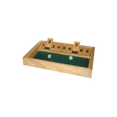 Kroegenspel shut the box 9
