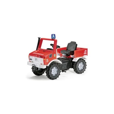 Trapauto Rolly Toys Brandweer Unimog