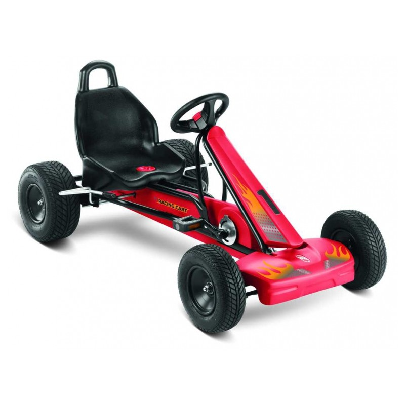 Skelter Puky F1L + Luchtbanden racing cart 3828