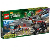 79116 LEGO Ninja Turtles Big Rig Sneeuwontsnapping