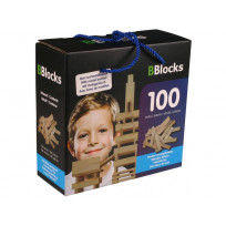 Bblocks 100 pcs. blank in kartonnen doos